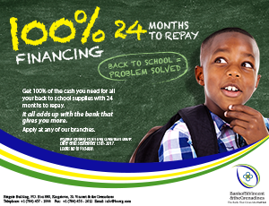100% Financing Back to School Loans